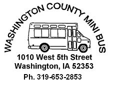 Washington County Mini Bus