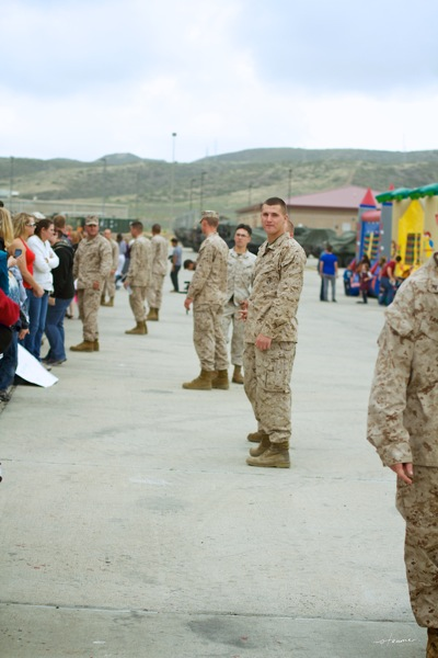 Marine homecoming17