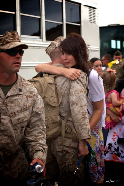 Marine homecoming25