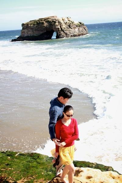 santa cruz natural bridges engagement shoot 07