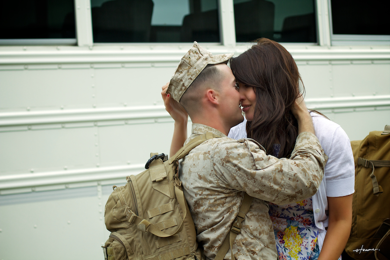 marine's homecoming