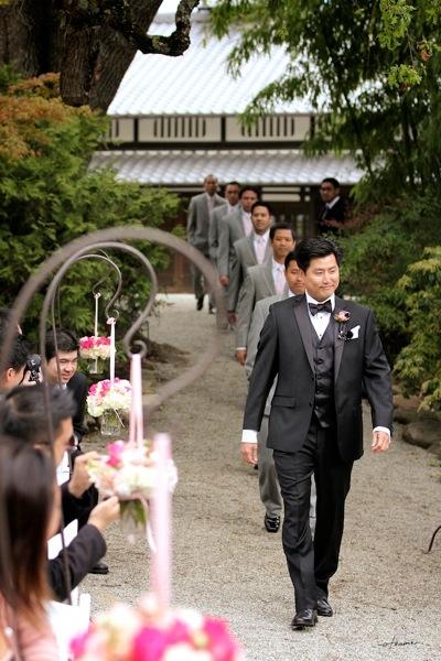 hakone garden wedding