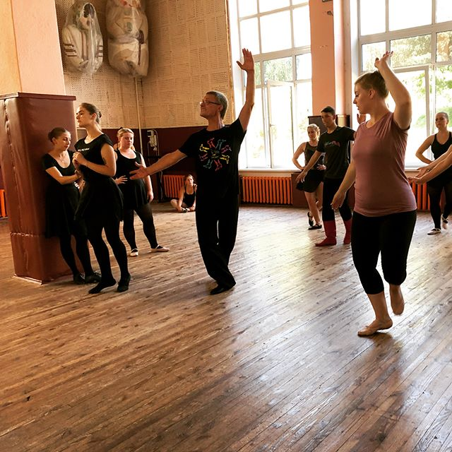 Some photos from our workshop with the director of the Volyn Song and Dance ensemble and some of his dancers! #lutsk #volyn #kvitkainukraine