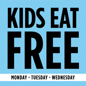 Kids eat free at MCL!  Every Monday, Tuesday and Wednesday, when you purchase an adult entrée at regular menu price your child's dinner is on us!   *Valid for kids 12 and under. One free kids' meal per child. Dine in only. Available for a limited time.