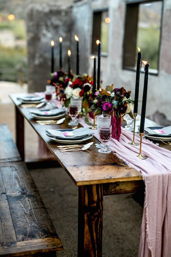 Weddingomania - 30 Decadent and Boho Lux Wedding Ideas