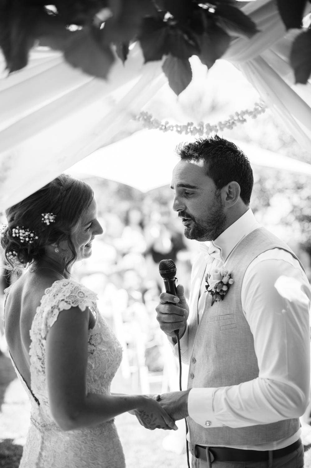A Love Filled Backyard Wedding