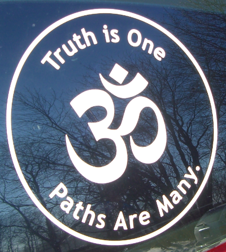 Truth is One decal.jpg