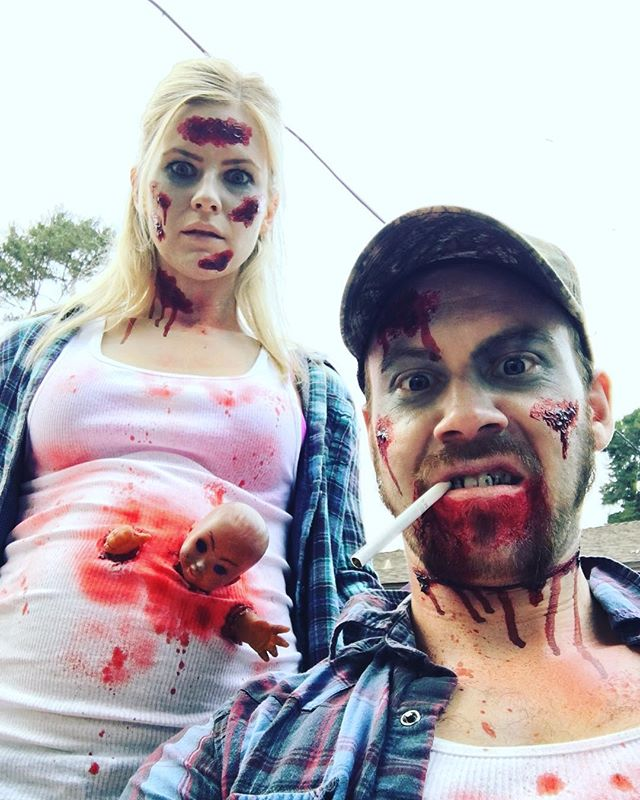 3 dead rednecks 🎃 #halloween