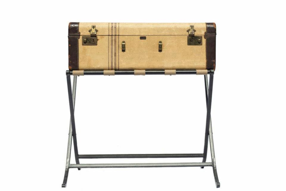 Suitcase and Stand