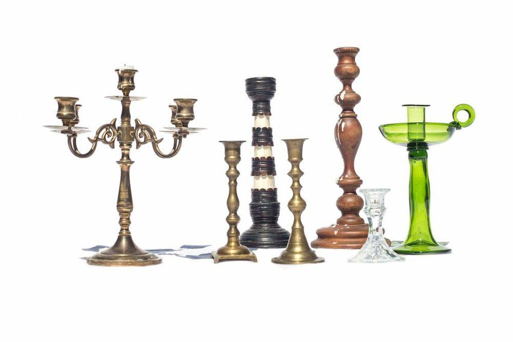 Assorted Candlesticks