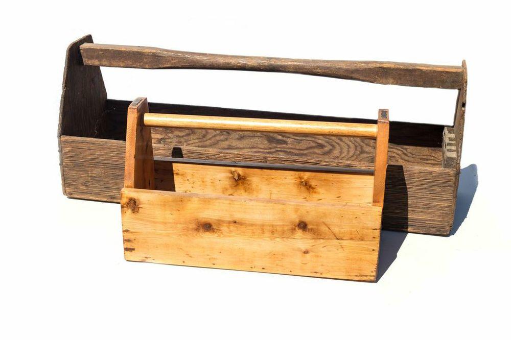 Tool/ Planter Boxes