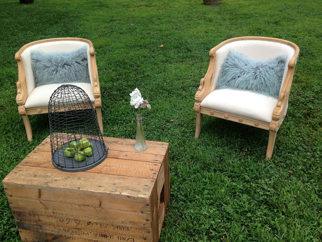 French Swan Chairs