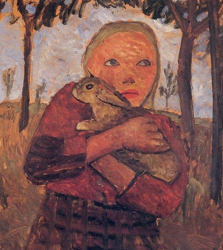 Painting by Paula Modersohn-Becker