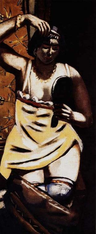 Max Beckman, Gypsy Woman