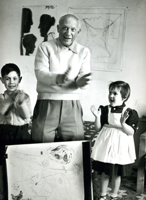 Picasso & his kids