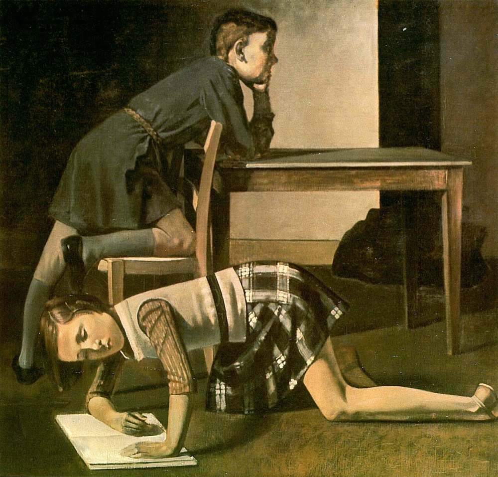 Children, Balthus, 1937