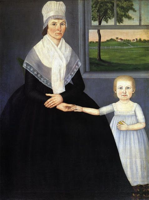John Brewster Jr. (1766-1854) Lucy Knapp Mygatt and her son George