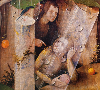 Hieronymus Bosch, 1453-1516, The Garden of Earthly Delights, detail