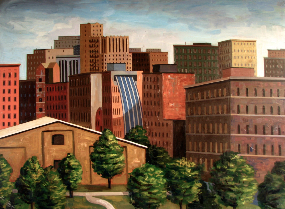 View of the City, Rick Beerhorst