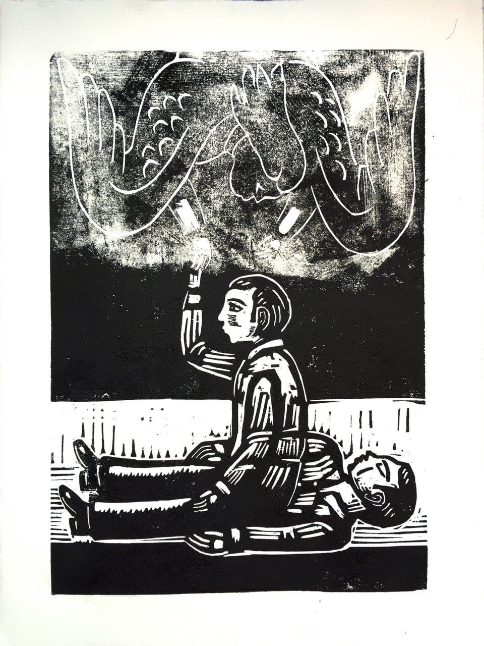 Purchase this original woodblock print here!