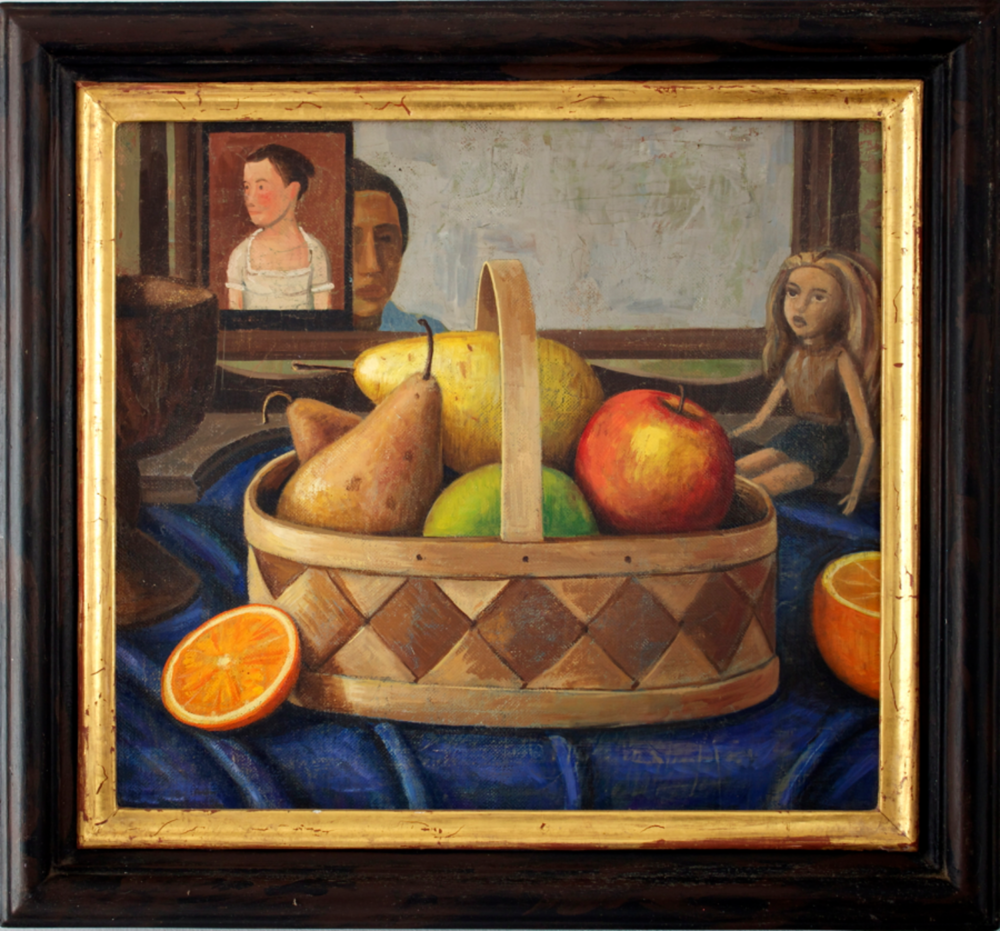 Fruit Basket Self-Portrait (SOLD)