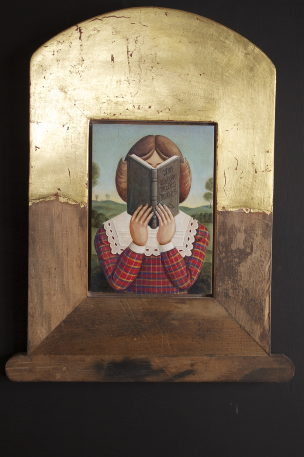 Girl with Book (SOLD)