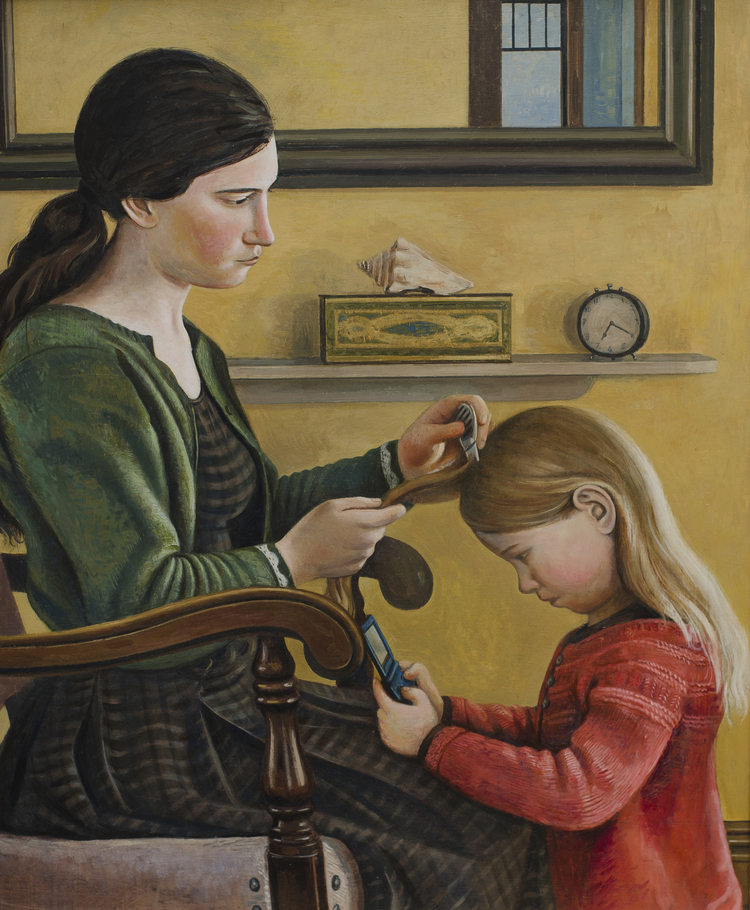 Combing Out Lice (SOLD)