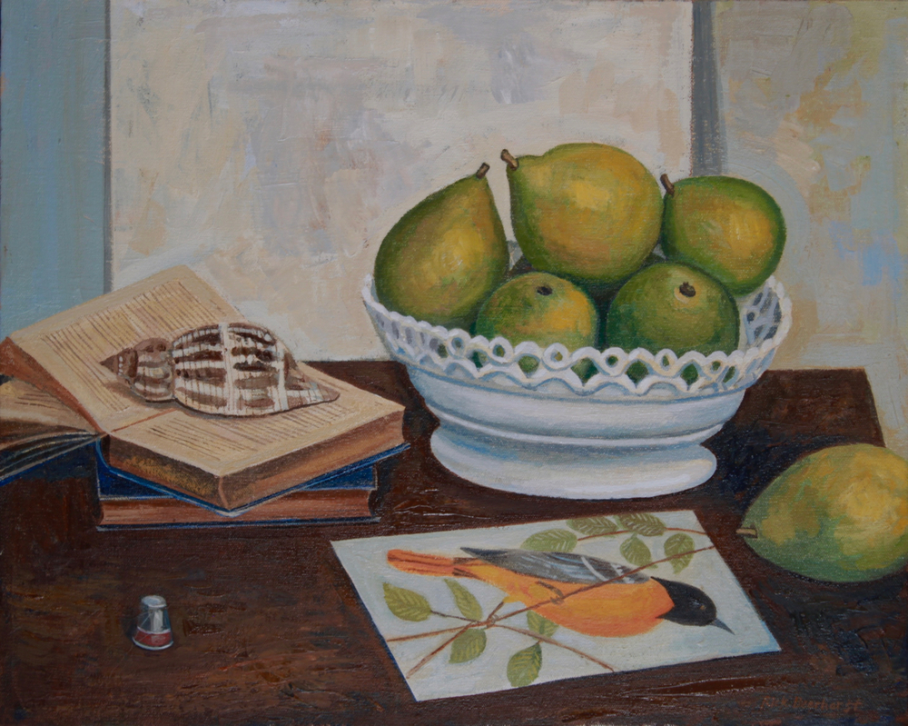 Pears, Shell and Bird