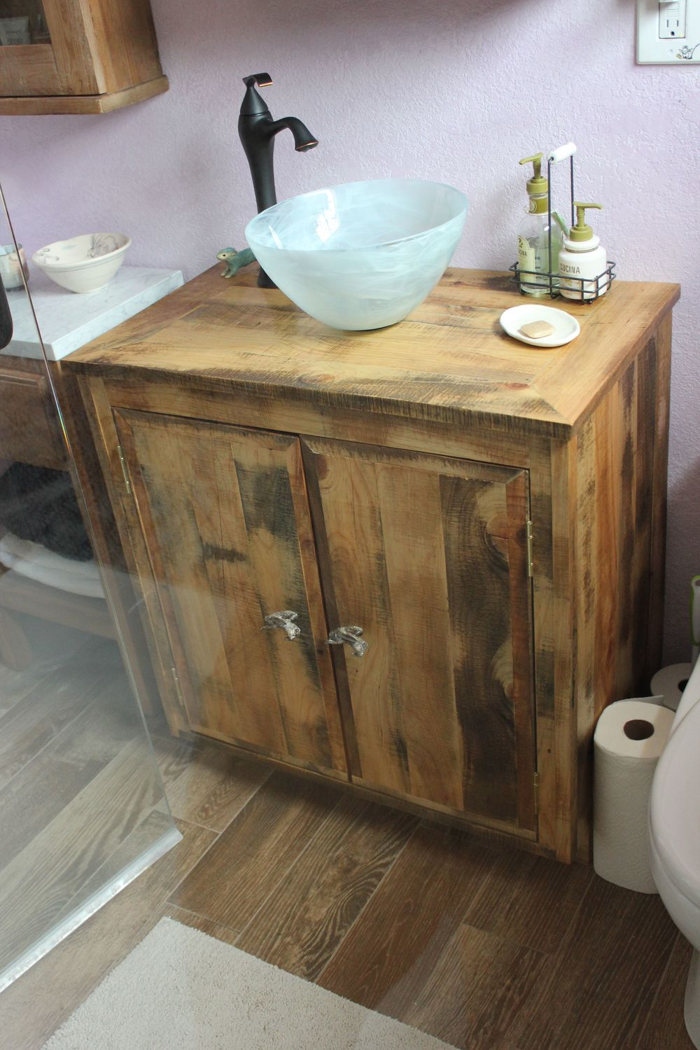 Wonderful Reclaimed Bathroom Vanity