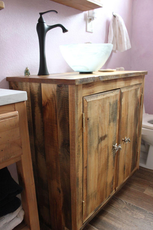 reclaimed bathroom vanity - Bathroom Vanity €� Reclaimed Wood - Los Angeles -Barnwood Hardwood