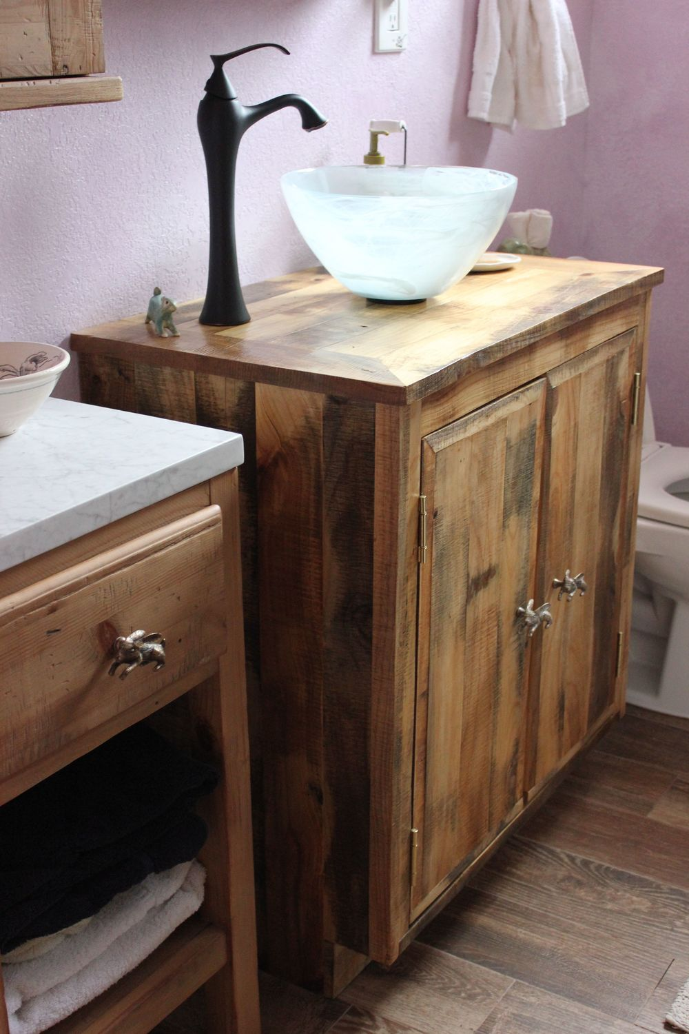 reclaimed bathroom vanity - Bathroom Vanity €� Reclaimed Wood - Los Angeles -Barnwood Hardwood