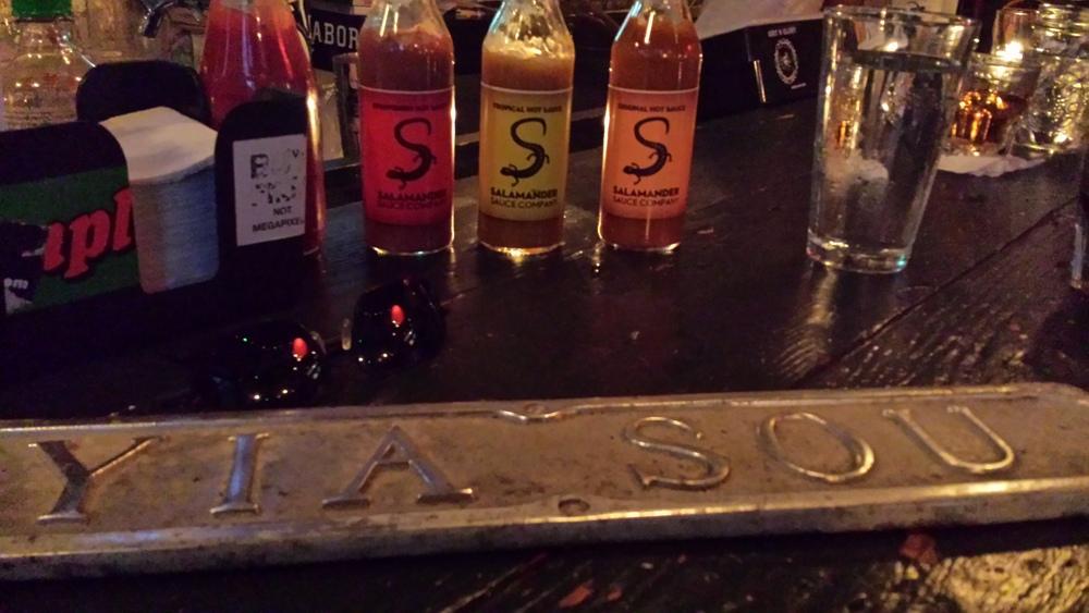 Salamander Sauces