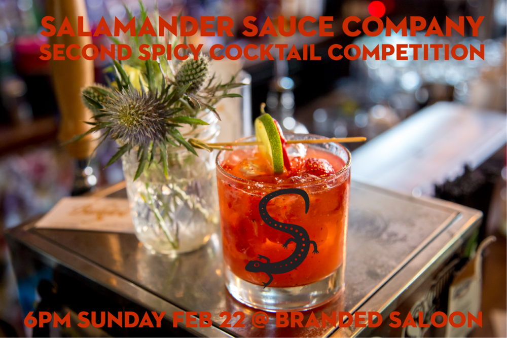 Join us for spicy cocktails and live music at Branded Saloon