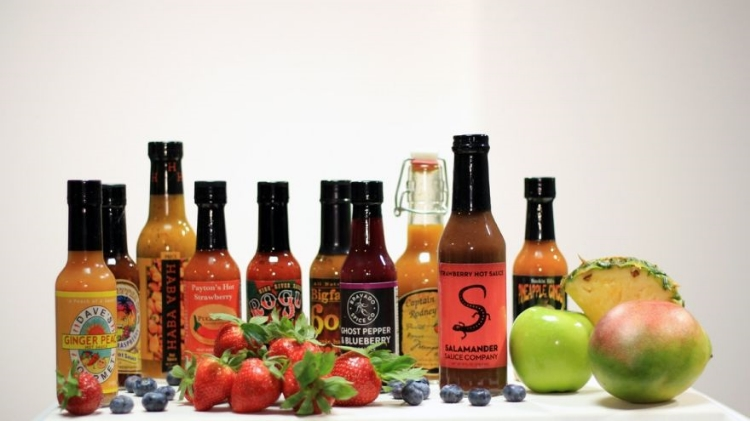 Salamander Tropical Sauce was ranked #1 in the Playboy Fruit-Flavored Hot Sauce Roundup!