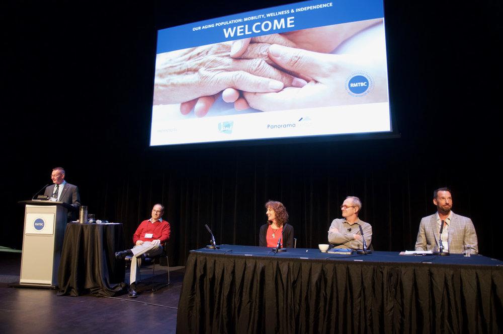 From left: Gordon MacDonald, Peter Behr RMT, Yvonne Poulin RMT, Dr. John Sloan, Andrew Nemeth RMT.
