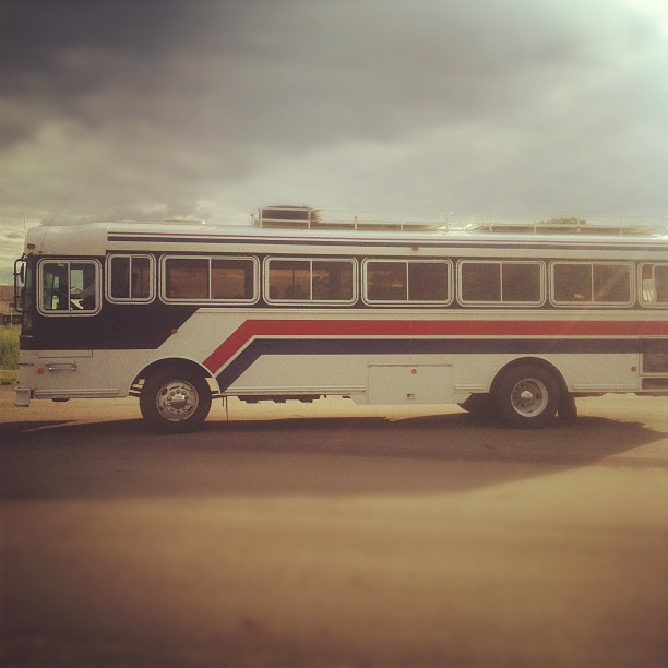 Did you know we bought a bus? Dreams do come true.