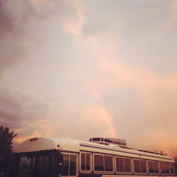 shortly after the double rainbow faded (Taken with Instagram at harrisonburg, virginia)