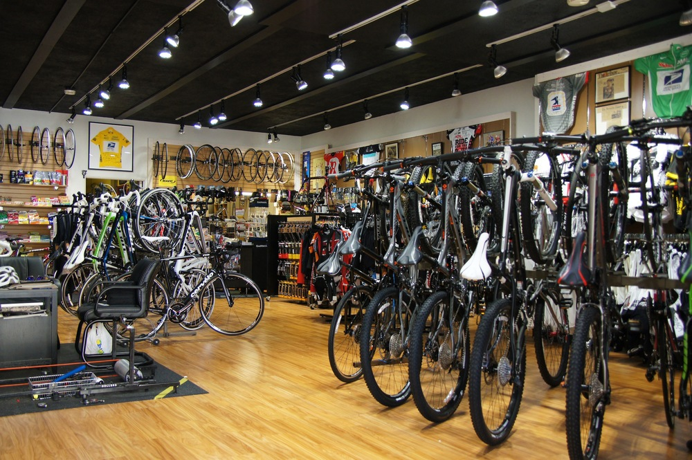 how to build a bicycle shop