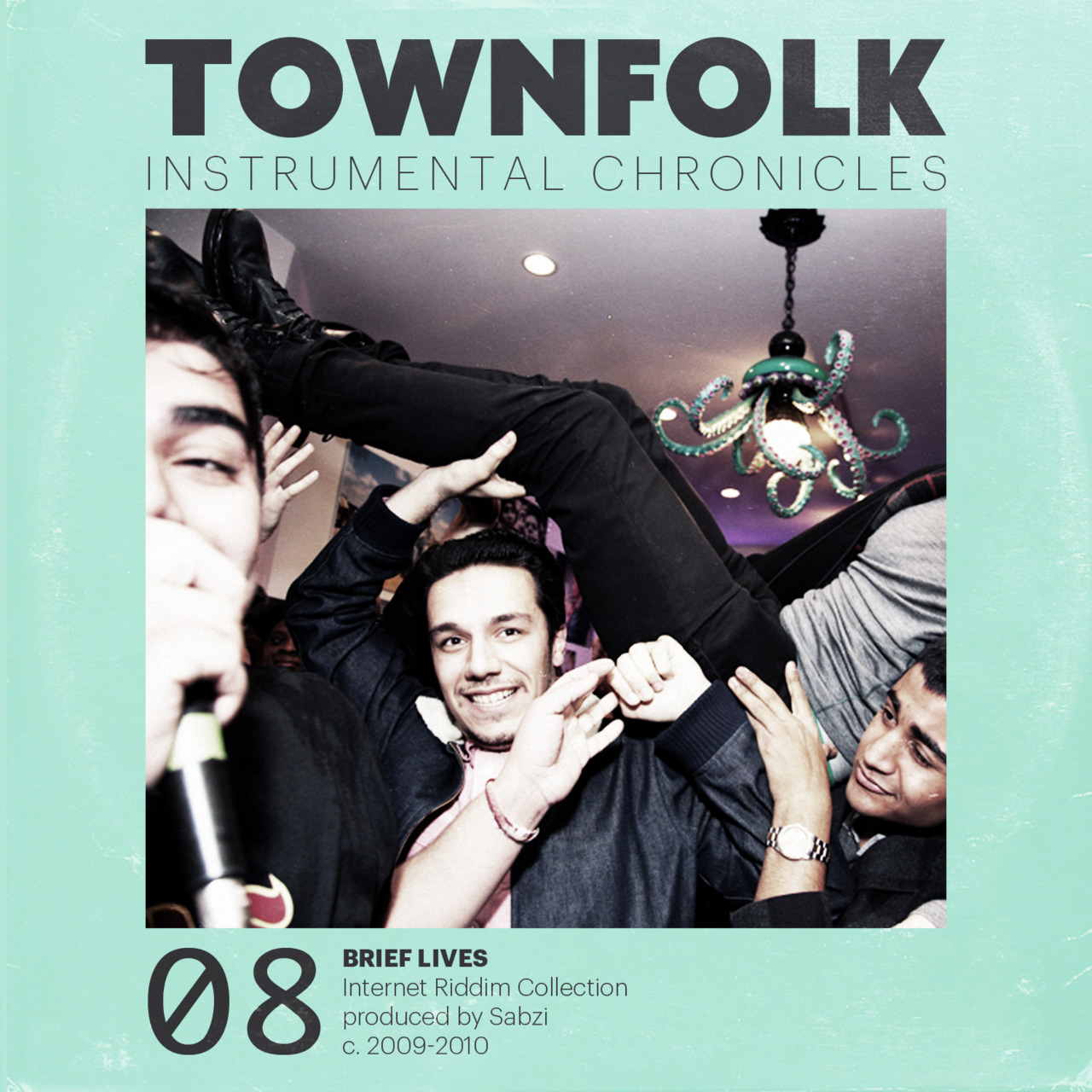 TOWNFOLK INSTRO CHRONICZ NUMERO OCHO.    between 2009-2010 I produced 13 tracks for various artists and one clothing brand: Blue Scholars, Macklemore, Grynch, Das Racist, Fences, Bambu, Rocky Rivera, Burkman Bros. all but one were released for life on the Internet.    DOWNLOAD
