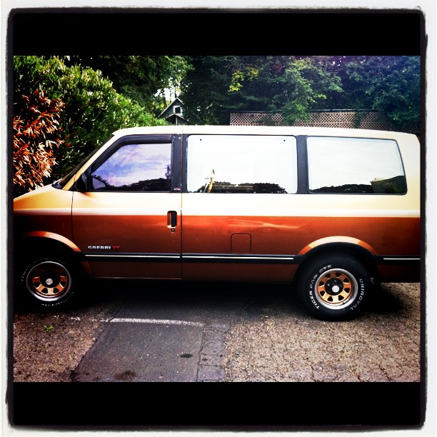 Owour's Super Ill Van (Taken with  instagram )