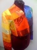 Jacket sewn together