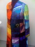 Skirt sewn on.