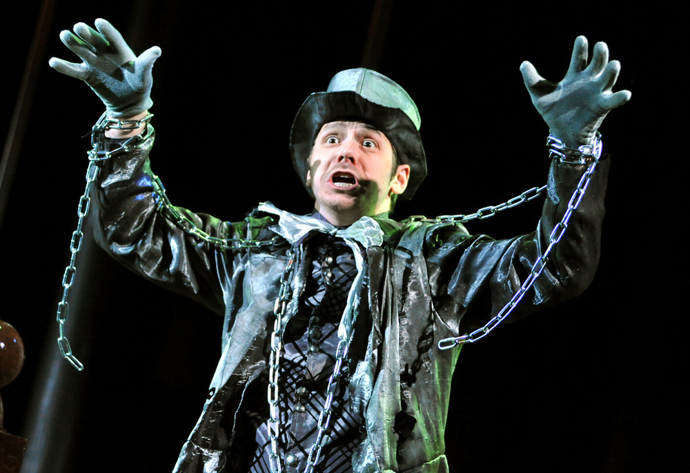 Jacob Marley  The Trial of Ebenezer Scrooge  Bag and Baggage Productions