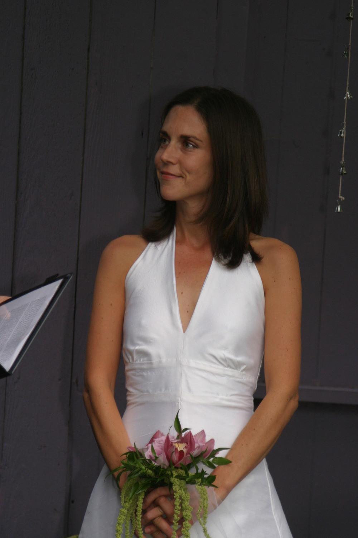 Meghan's Wedding Dress.  Made by Allison Dawe