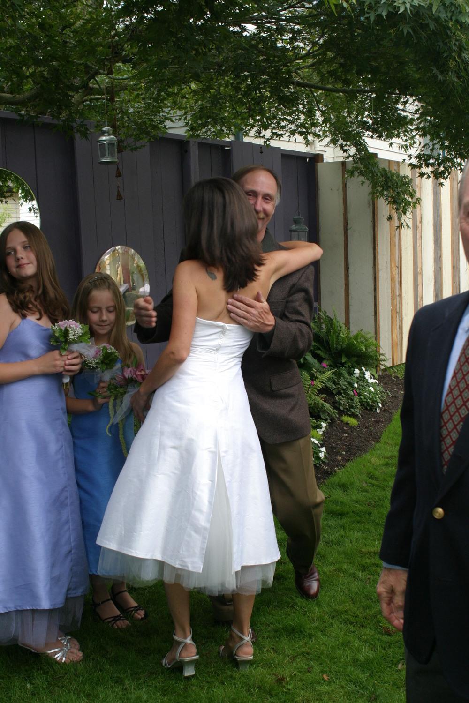 Meghan's Wedding Dress (Back View)  Made by Alison Dawe