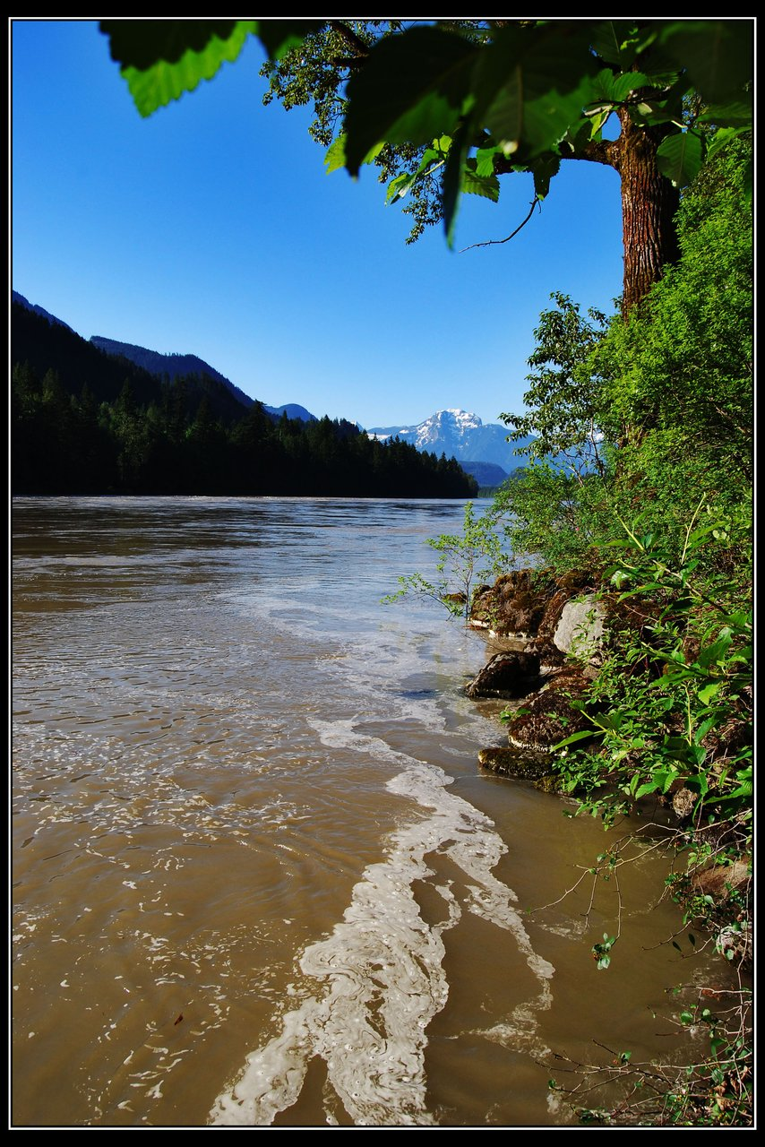 Frasier River, Hope, BC