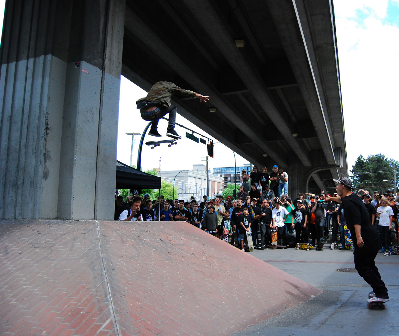 Andrew Reynolds. Big air @ Go Wild In The Streets. Vancouver 09