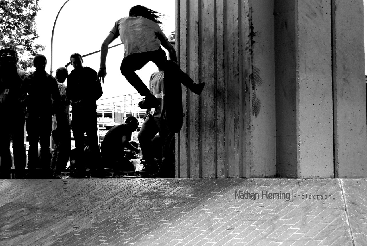 Kevin Long plants one at Emerica's Go Wild in the Streets, Summer 09