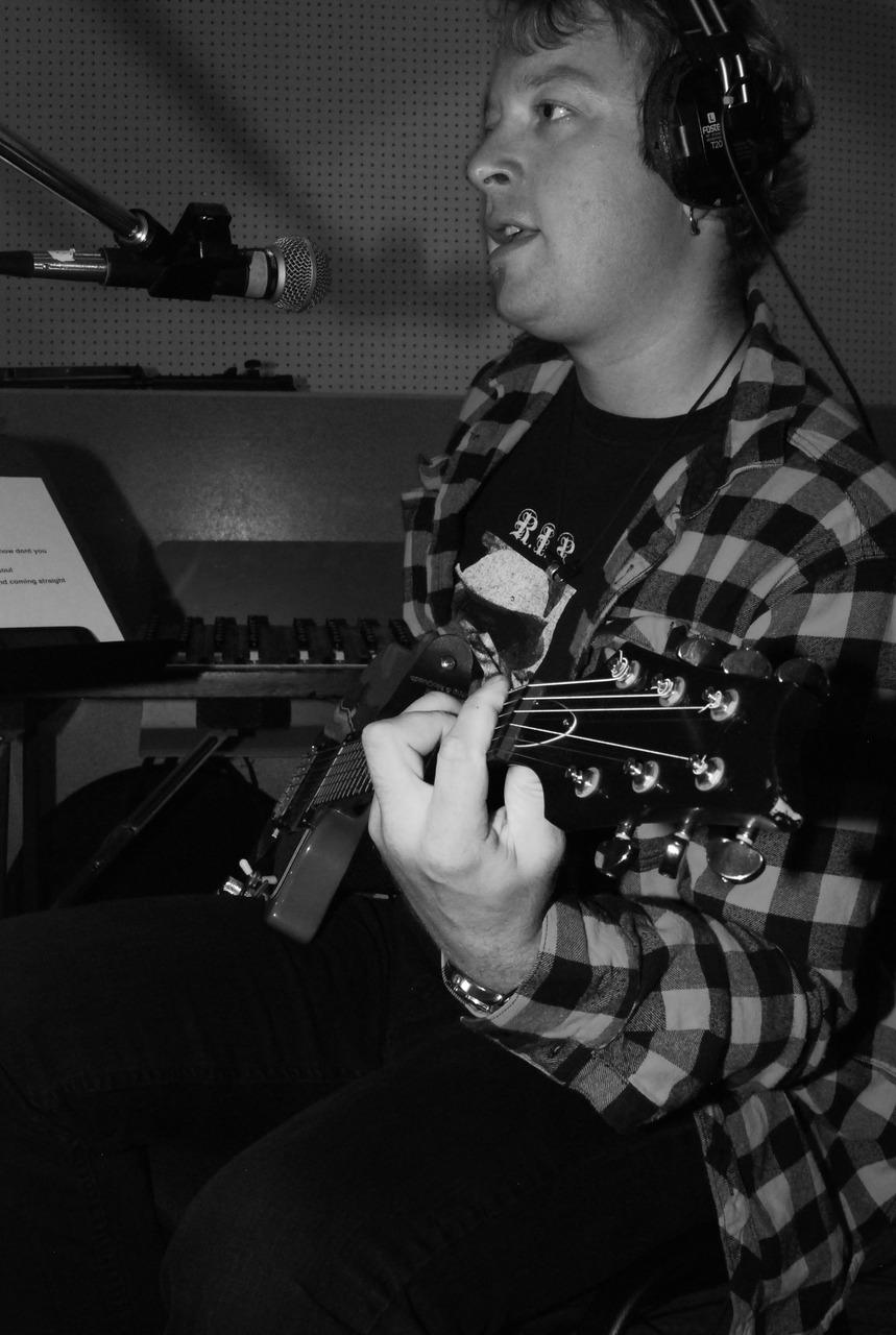 Daniel Wesley @ Mushroom Studios