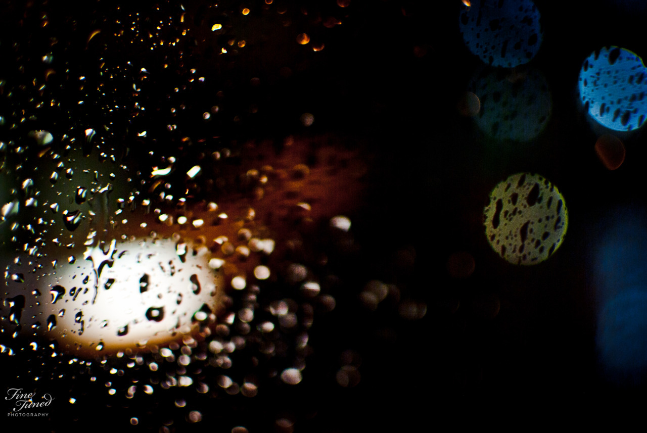Rainy cab ride home from an evening of live jazz at the Fairmont.